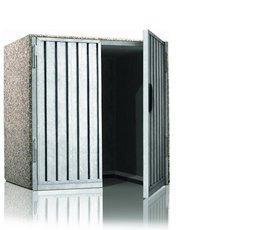 ger te schrank aus beton und waschbeton wagner treppenbau mainleus. Black Bedroom Furniture Sets. Home Design Ideas