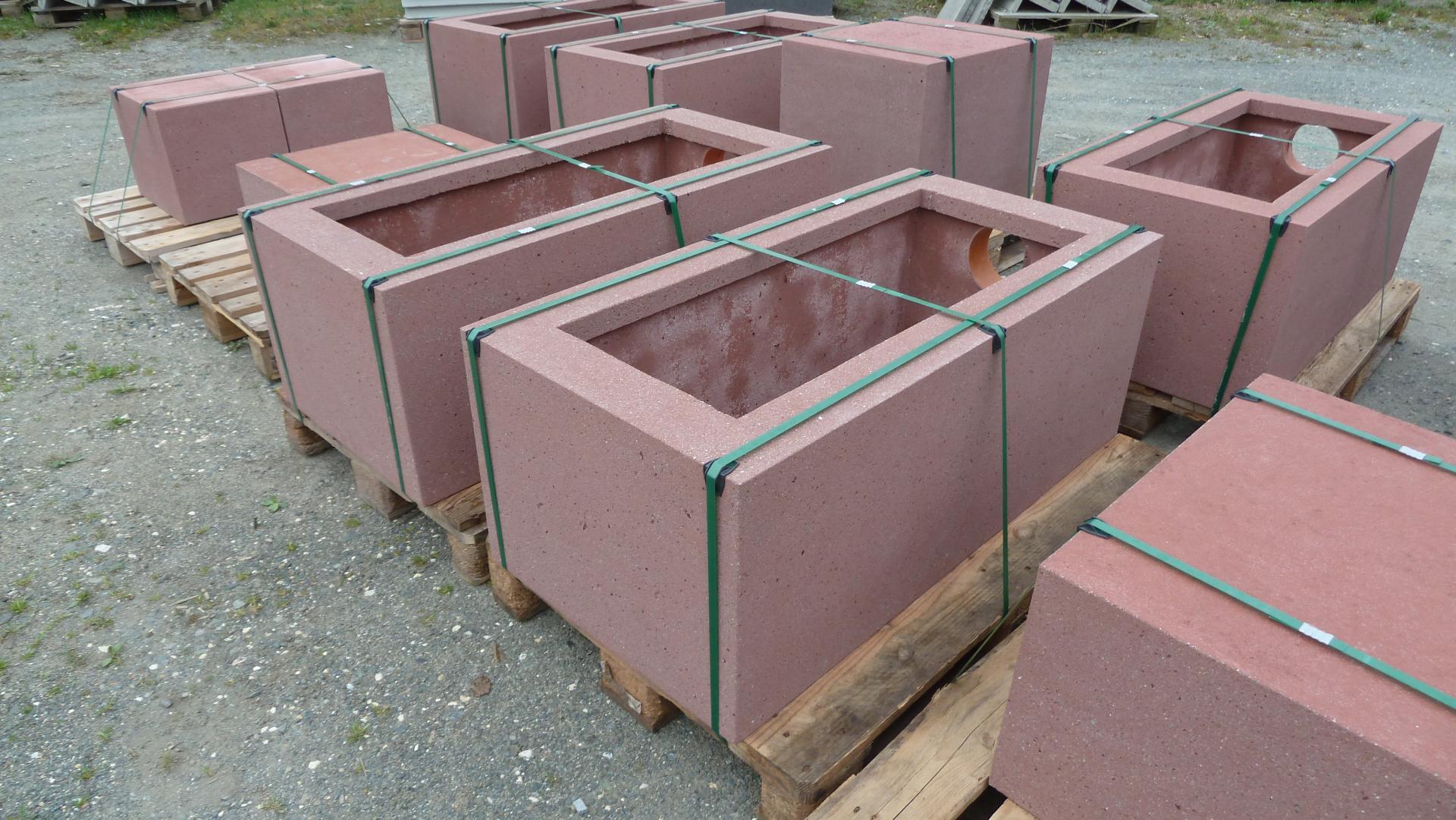 Sitzblock Und Sitzblöcke Aus Beton Waschbeton Und Betonwerkstein